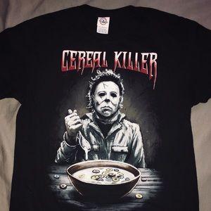 Tops - Michael Meyers Horror T-Shirt - Size M